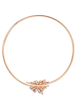 Stephen Webster - + Hearts On Fire 18-karat Rose Gold Diamond Necklace - one size