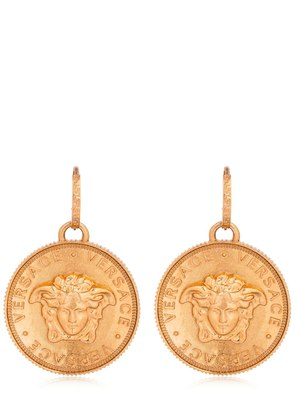 EMBOSSED COIN EARRINGS