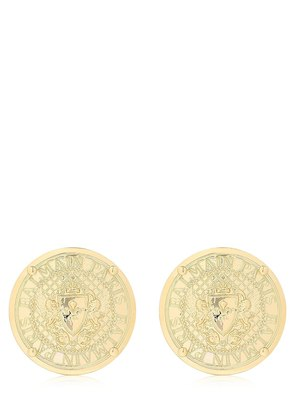LOGO COIN EARRINGS