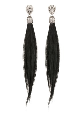 FUR CLIP-ON EARRINGS