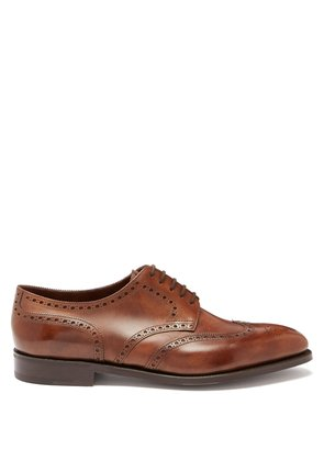 Hayle leather brogues