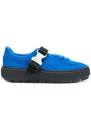 Puma buckle platform sneakers - Blue
