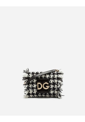Dolce & Gabbana Mini Bags and Clutches - DG MILLENNIALS CROSS-BODY BAG IN TWO-TONE TWEED MULTICOLOR