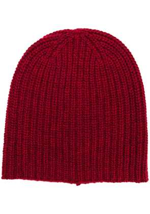 Alex Mill ribbed knit beanie - Red