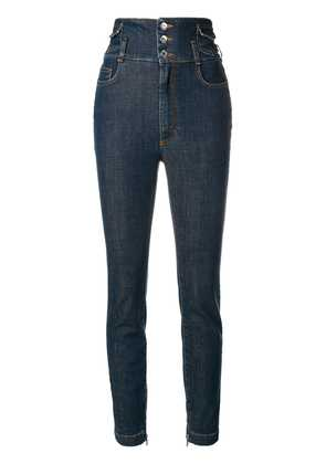Dolce & Gabbana high waisted skinny jeans - Blue