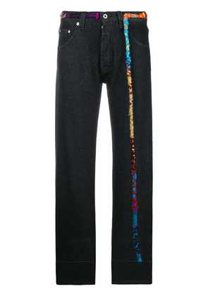 Loewe embroidered knot jeans - Black