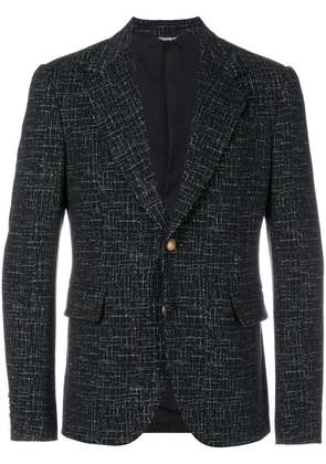 Dolce & Gabbana patterned blazer - Black