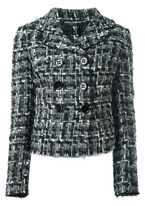 Dolce & Gabbana tweed jacket - Black