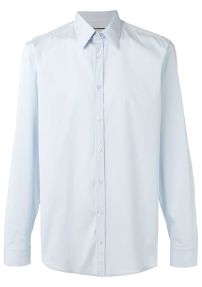 Gucci pointed collar shirt - Blue