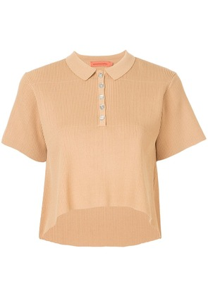 Manning Cartell Setting the Tone cropped polo - Brown