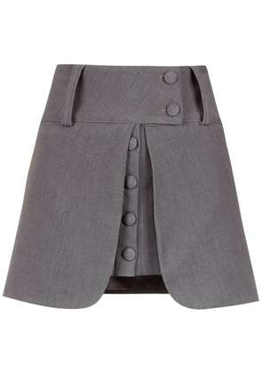 Andrea Bogosian layered skirt - Grey