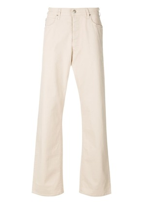 Armani Jeans loose-fit bootcut jeans - Nude & Neutrals