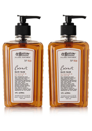 C.O. Bigelow - Set Of Two Coconut Hand Washes, 295ml - one size