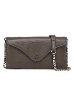 Maison Margiela Woman Textured-leather Wallet Taupe Size -
