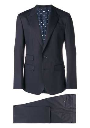 Dolce & Gabbana classic two-piece suit - Blue