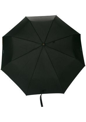 Moschino pinstripe umbrella - Black