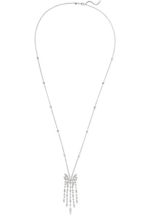 Stephen Webster - + Hearts On Fire White Kites 18-karat White Gold Diamond Necklace - one size