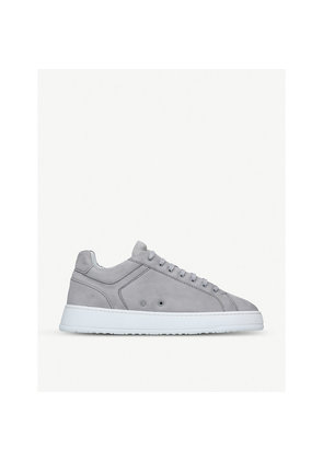 Low 4 suede trainers