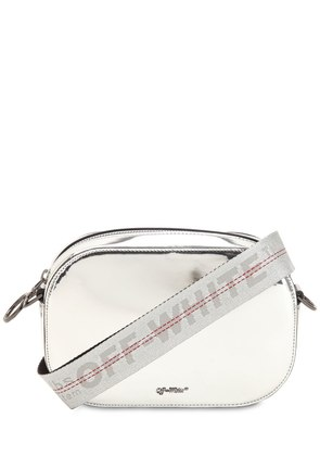 MIRROR FAUX LEATHER CAMERA BAG