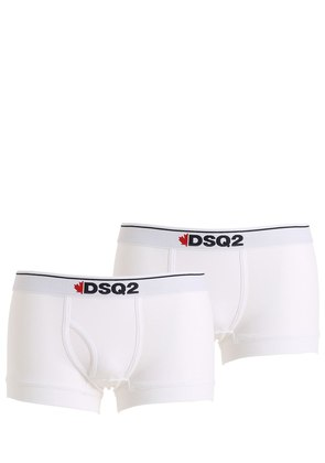 PACK OF 2 COTTON JERSEY BOXER BRIEFS