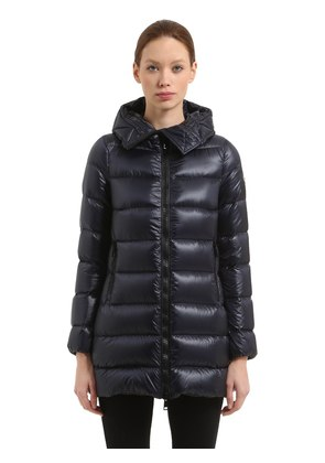 SUYEN LEGER NYLON DOWN COAT