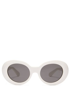 Mustang oval acetate sunglasses