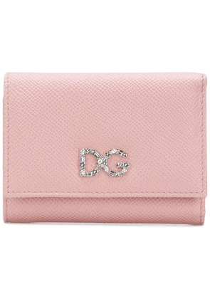 Dolce & Gabbana small Dauphine wallet - Pink & Purple