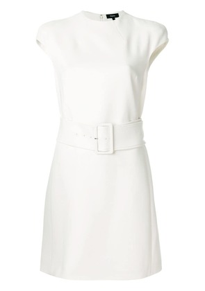 Theory belted mini dress - Nude & Neutrals