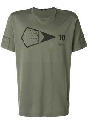 Stone Island Shadow Project printed T-shirt - Green