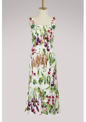 Mix Vegetables maxi dress