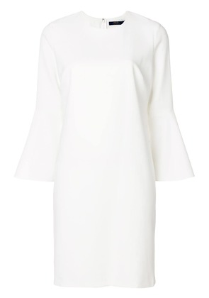 Polo Ralph Lauren flared sleeve dress - White