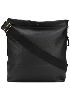 Tom Ford logo large shoulder bag - Black