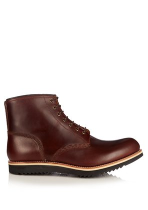 Dawson leather ankle boots