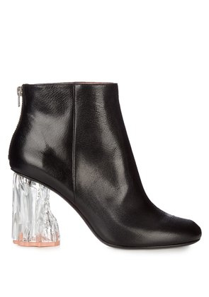 Ora leather boots