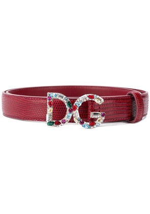 Dolce & Gabbana DOLCE & GABBANA BE1272AU772 8S297 Leather/Fur/Exotic