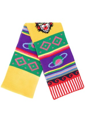 Gucci Striped symbol scarf - Multicolour