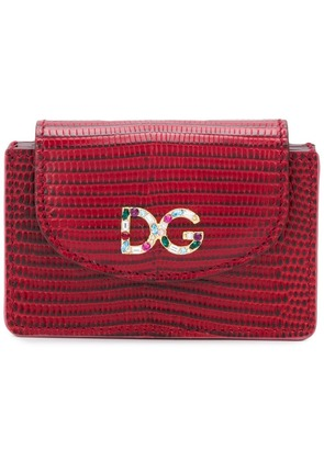 Dolce & Gabbana Continental wallet - Red