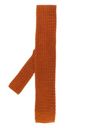 Tom Ford knitted tie - Brown
