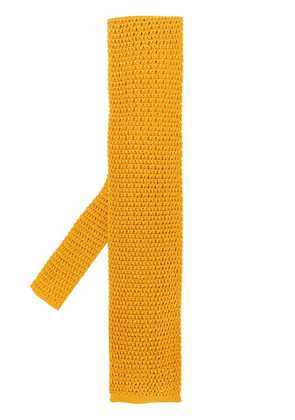 Tom Ford knitted tie - Yellow & Orange