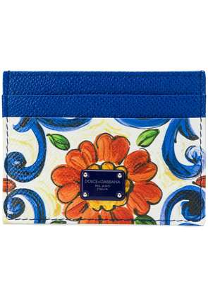 Dolce & Gabbana floral card holder - White