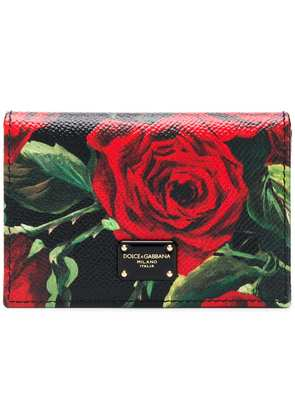 Dolce & Gabbana Rose coin purse - Black