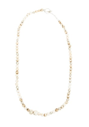 Henson small shell bead necklace - Nude & Neutrals