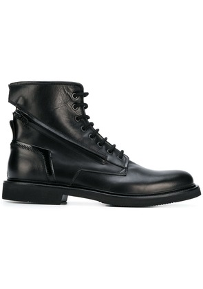 Bruno Bordese ankle lace-up boots - Black