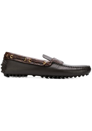 Car Shoe penny loafers - Brown