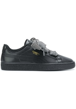 Puma lace fastening sneakers - Black