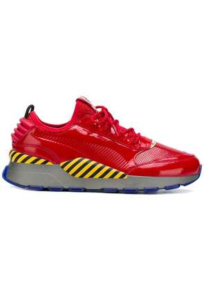 Puma PUMA 36835001EGGMANCHINESEROSSO ROSSO Synthetic->Acrylic - Red