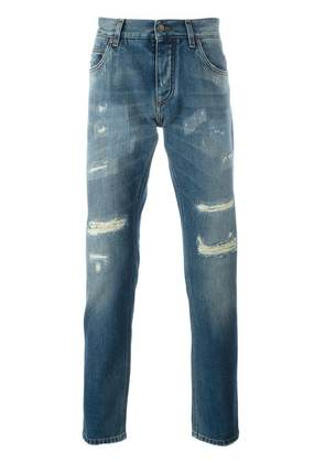 Dolce & Gabbana ripped jeans - Blue