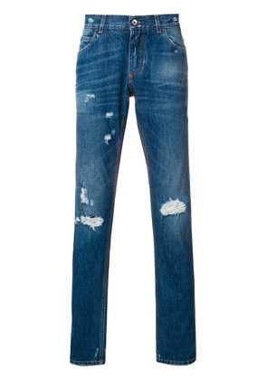 Dolce & Gabbana distressed straight jeans - Unavailable