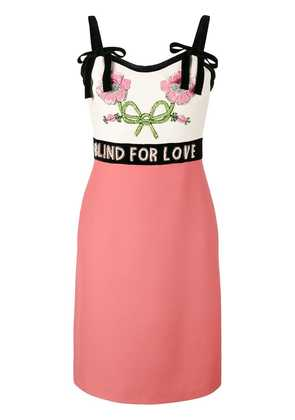 Gucci Blind For Love dress - Pink & Purple