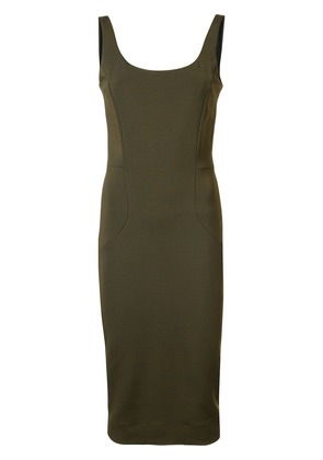 Victoria Beckham fitted dress - Green